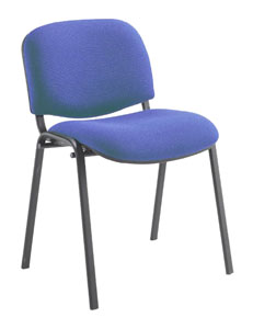 Stax Side E65 stacking chair x 2