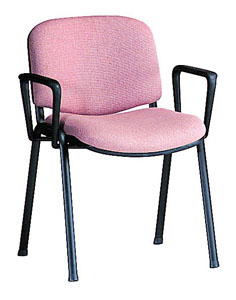 Stax Side E66A stacking chair x 2
