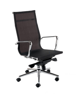 Breeze BH1 Black Designer Mesh Chair