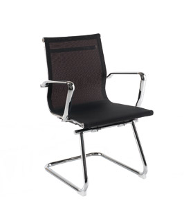 Breeze BMCA Black Designer Mesh Chair