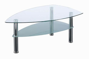 GL10196 GLASS COFFEE TABLE