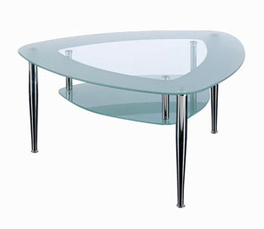 GL10197 GLASS COFFEE TABLE