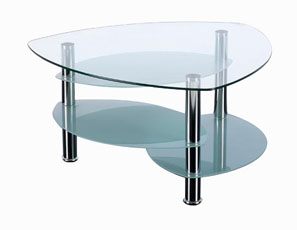 GL10667 GLASS COFFEE TABLE