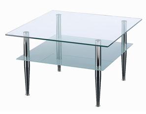 GL11125 GLASS COFFEE TABLE