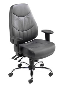 Mercury MM2 Executive Leather Office Chair - Click Image to Close