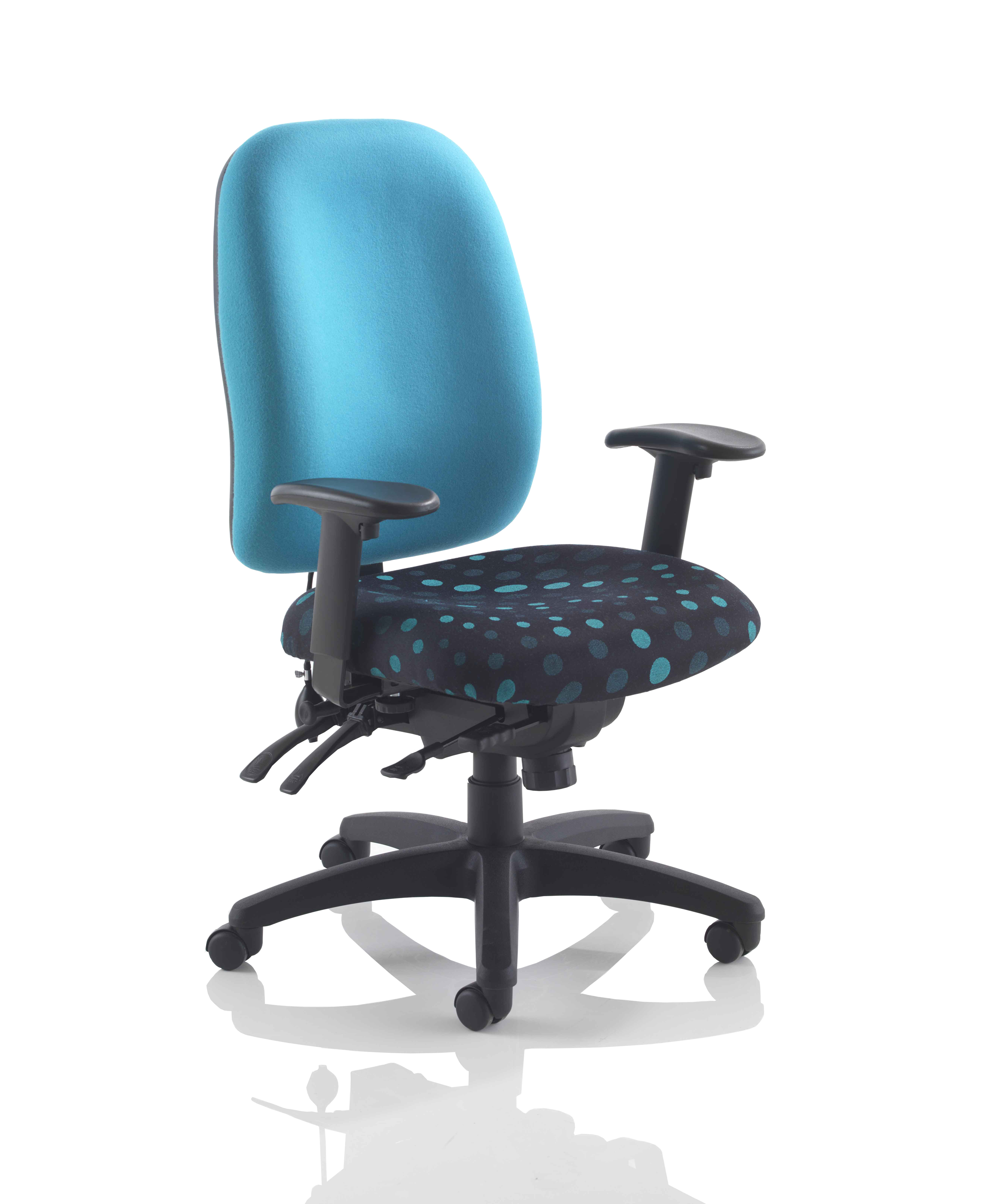 STELLAR POSTURE WITH HEIGHT ADJUSTABLE ARMS