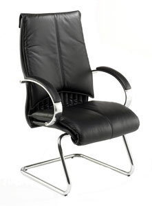 Valentino V7-MCA Executive Leather Meeting Chair